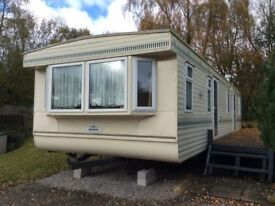 OFF SITE STATIC CARAVAN FOR SALE- DOUBLE GLAZED & GAS CENTRAL HEATED