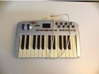 M-Audio Oxygen 8 Midi Controller 25-Key Keyboard