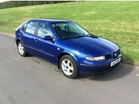 2002 SEAT LEON 1.4 s * M.O.T TO 14th JANUARY 2017 * focus golf civic 207 corsa megane Clio Astra