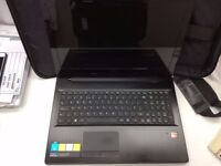 Lenovo Z50-75 laptop with 12GB RAM/1TB HDD and laptop bag