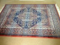 Traditional pattern New Zealand wool rug