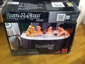 Lay Z Spa Miami Hot Tub