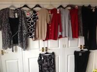 Collection of ladies clothes, new with tags size 18