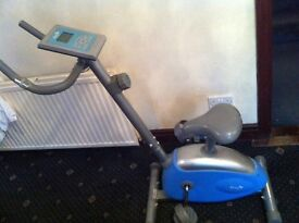 Exercise bike- £45
