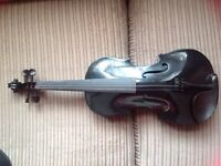 FULL SIZE VIOLIN OUTFIT WITH CASE AND BOW BY ARCHETTO