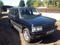 Range rover p38 2.5 dt 1998 sell or swap for vivaro or traffic