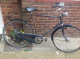 Vintage Batavus Town Bike (needs new gear shifter )
