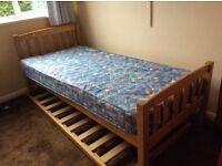 Rollaway guest bed.