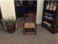 small chair.