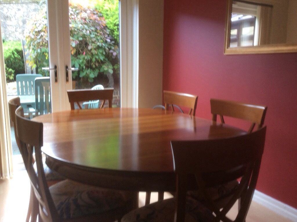 Sterlings GRANGE Dining Room Furniture Consists Of Extending Table 6 Chairs And Display Unit