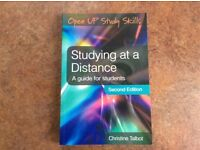Open University: Studying at a distance: a guide for students: Christine Talbot. ISBN 9780335223695