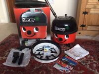 Henry Hoover - used once then put back in box!!! Needs a loving home!