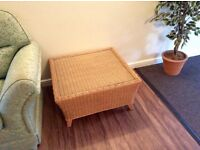 ✅ COFFEE TABLE - SQUARE RATTAN Style; 80cm X 80cm Square Top height 40cm. ✅Excellent condition!