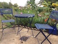 Garden table and chairs, FREE