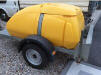 Western 1000 litre fast tow water bowser