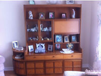 Nathan teak display unit