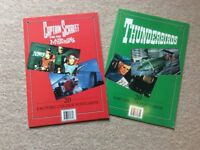 Thunderbirds & Captain Scarlett Postcard books