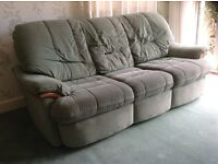 Three seat Drayton style sofa.