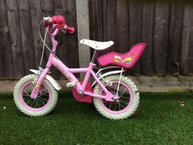 Girls bike - 12 inch - Excellent condition
