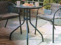 Bistro table, new & sealed