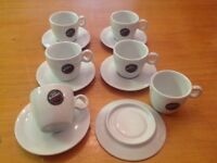 Coffee cups & saucer sets