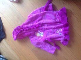 Princess Sofia Disney Dressing Gown size 2