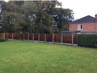 Wharton fencing and paving
