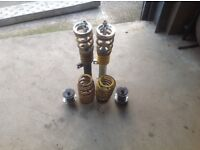 USED FK 120MM VW JETTA/GOLF/PASSAT B6 COILOVERS(R LINE,SPORT,CC,GT,SCIROCCO,CADDY)