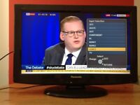Panasonic 26 inch HD LCD TV with Freeview, perfect working order