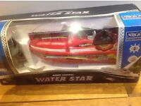 Unused Nikko Water Star Radio Controlled Boat