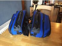 Motor cycle saddle bags