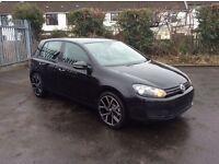 2012 Volkswagen Golf 1.6 TDI Match DSG Auto Company Car only £6950