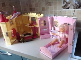 Two Dolls House (Toys, Lego, Minion, Peppa Pig, Barbie, Disney)