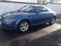 Audi TT coupe 1781 180 BHp, blue,full leather,very good condition,alloys,full electrics,