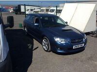 Subaru boxer legacy immaculate condition worn on the service