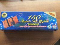 Net of 150 coloured lights