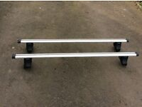 Genuine Mitsubishi roof bars complete with keys £130 fit L200