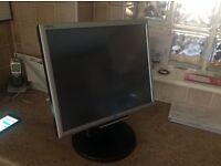 NEC MULTISYNC LCD 175M COLOUR MONITOR