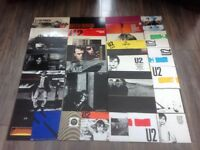 U2 Collection of 31 records. Near mint condition.