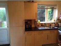 Kitchen units, dishwasher, fridge freezer etc