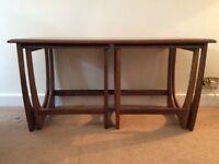 Vintage G Plan Teak Nest of 3 Tables in EXCELLENT HONEST CONDITION for age