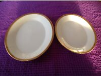 Noritake. Two Attractive Oval Shaped Serving Platters