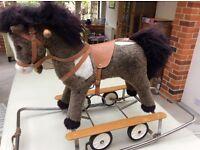 Vintage Pull Along / Rocking Horse /Donkey