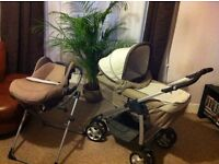 Silver Cross Freeway travel system (incl. car seat) used