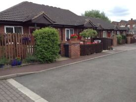 **ONE BED BUNGALOW** WROUGHTON COURT, EASTWOOD, NOTTINGHAM *OVER 55's ONLY*