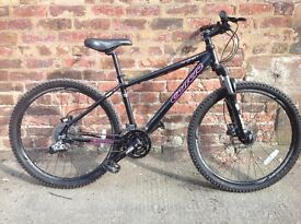 Carrera kraken ladies spec mountain bike in mint condition