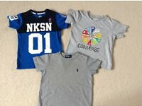 3 designer boys t shirts age 2yrs & 2-3yrs