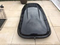 Odyssey roof box and Thule roof bars