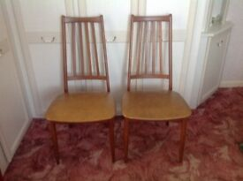 2 old but very solid dinning chairs £10 each