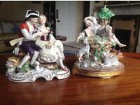 Selection of Dresden Ornaments